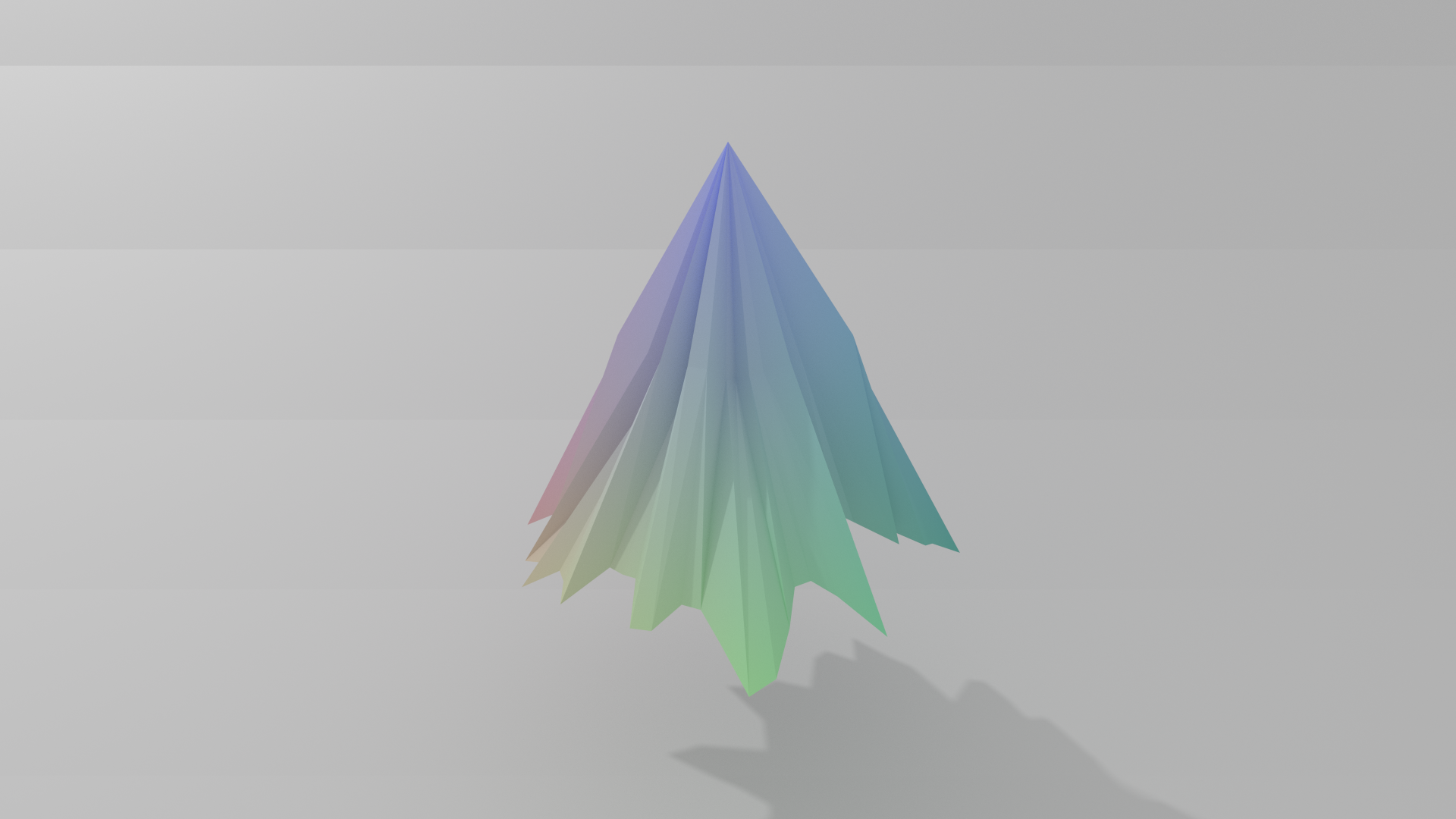 Coordinates as Color and Mesh Discplacement